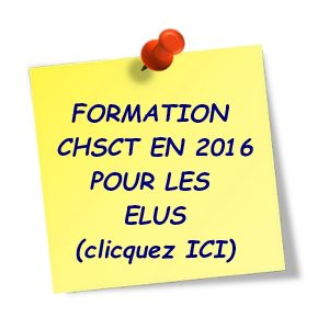 FORMATIONS CHSCT